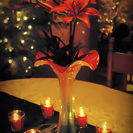 Brian Wallace - Lilies Christmas Setting