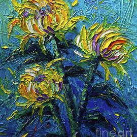 Mona Edulesco - Chrysanthemums Etude