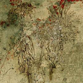 Irina Effa - Chrysanthemums Graphic series 6