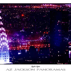 Chrysler Nights Poster Print - Az Jackson