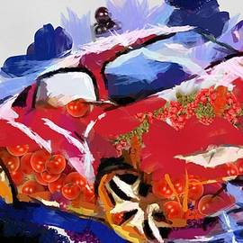 Catherine Lott - Chubby Car Red