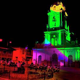 Al Bourassa - Church In Racar Ecuador At Night
