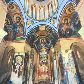 Henrieta Maneva - Church of St. George, Kyustendil, Bulgaria