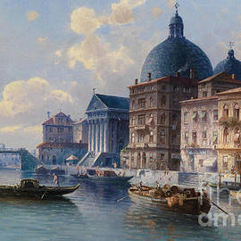 Celestial Images - Circle Canal in Venice