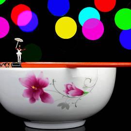 Paul Ge - Circus balance game on chopsticks