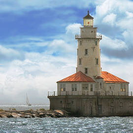 Mike Savad - City - Chicago IL - Chicago harbor lighthouse