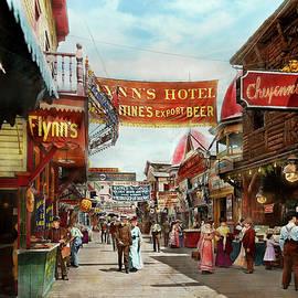 Mike Savad - City - Coney Island NY - Bowery Beer 1903
