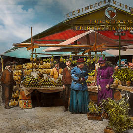 Mike Savad - City - Lexington market Baltimore Maryland 1890