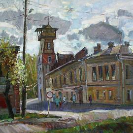 Juliya Zhukova - City of Tutaev. Left Coast.