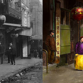 Mike Savad - City - San Francisco - Chinatown - Visiting the commoners 1896-06 - Side by Side