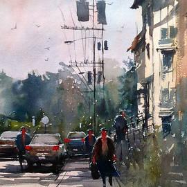 city sidewalk - Ryan Radke