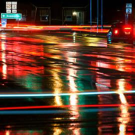 Glen Berry - City Traffic on a Rainy Night
