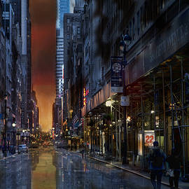 Evie Carrier - Cityscape 22 NYC