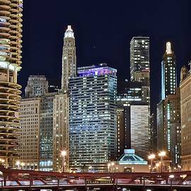Frozen in Time Fine Art Photography - Clark Street Chicago View