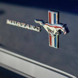 Classic Mustang Logo Closeup - Mike Reid