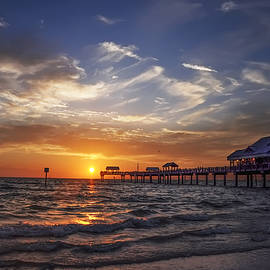 Bill Cannon - Clearwater Beach Seascape