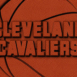 CLEVELAND CAVALIERS LEATHER ART - Joe Hamilton