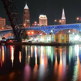 Frozen in Time Fine Art Photography - Cleveland Ohio in Black and Color