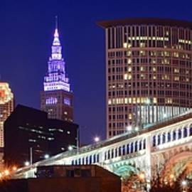 Frozen in Time Fine Art Photography - Cleveland Pano