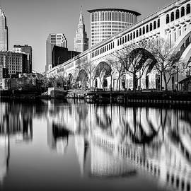 Matt Hammerstein - Cleveland Reflections on the Cuyahoga River