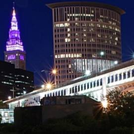 Frozen in Time Fine Art Photography - Cleveland Stretches Forth
