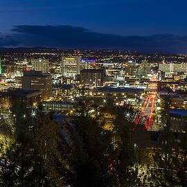 Cliff Drive Rush Hour - Spokane  - Mark Kiver