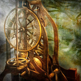 Mike Savad - Clockmaker - The day time stood still