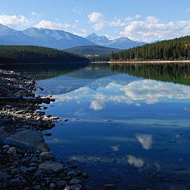 Larry Ricker - Cloud Reflections in Patricia Lake