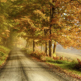 Jeff Folger - Cloudland road in Vermont