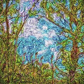 Joel Bruce Wallach - Clouds Caress Trees