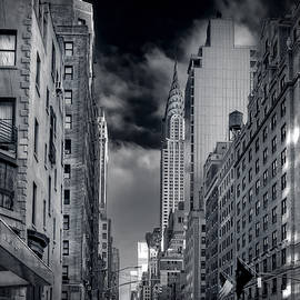 Mike Deutsch - Clouds Over Chrysler Building
