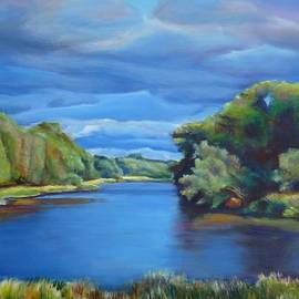 Sheila Diemert - Clouds Over Conestogo River II