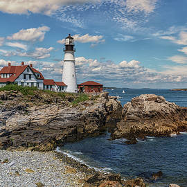 Brian MacLean - Clouds over Portland Head Lighthouse