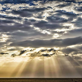 Walt Foegelle - Clouds Rays and Silos