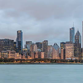 James Udall - Cloudy Chicago Skyline