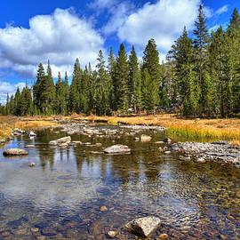 Lynn Bauer - Cloudy Reflections on Rock Creek