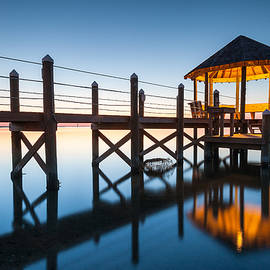 Mark VanDyke - Coastal Serenity - OBX Gazebo Cape Hatteras National Seashore