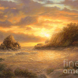 Coastal Sunset - Chuck Pinson
