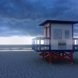 Bradford Martin - Cocoa Beach after the storm
