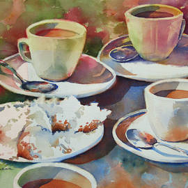 Sue Zimmermann - Coffee and Beignets