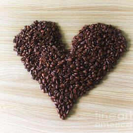 Coffee bean heart - SK Pfphotography