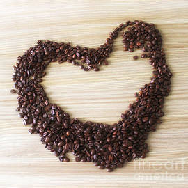 Coffee beans heart - SK Pfphotography