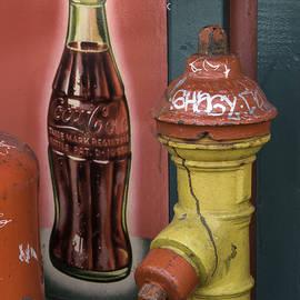 Bob Neiman - Coke and Fire Hydrant Reykjavik Iceland 1108