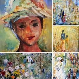 Aline Halle-Gilbert - Collage