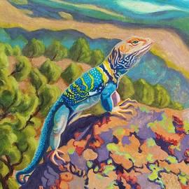Ruth Soller - Collared Lizard