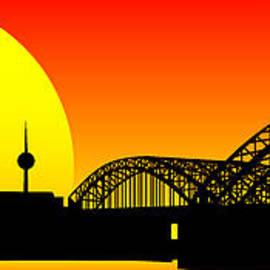 Sandra Hoefer - Cologne Skyline
