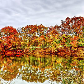 Geraldine Scull - Colonial Park Somerset New Jersey autumn foliage