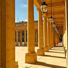 Alex Cassels - Colonnade at the Palais Royal