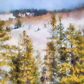 Jai Johnson - Colorado Color Splash 1 Landscape Art by Jai Johnson