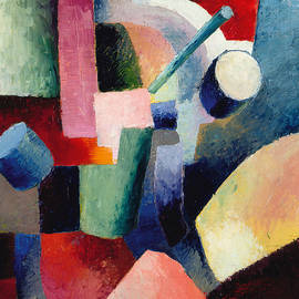 Colored Composition of Forms - August Macke